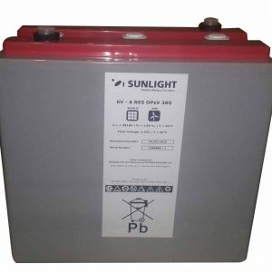 Cell Sunlight 6V 6RES OPzV 380 Ah