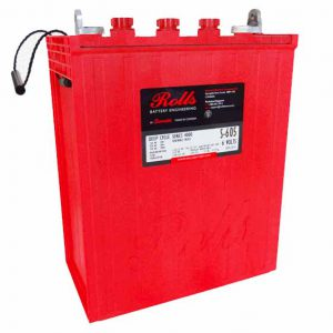 Surrette S-605, 6V,468AH,solar wet battery