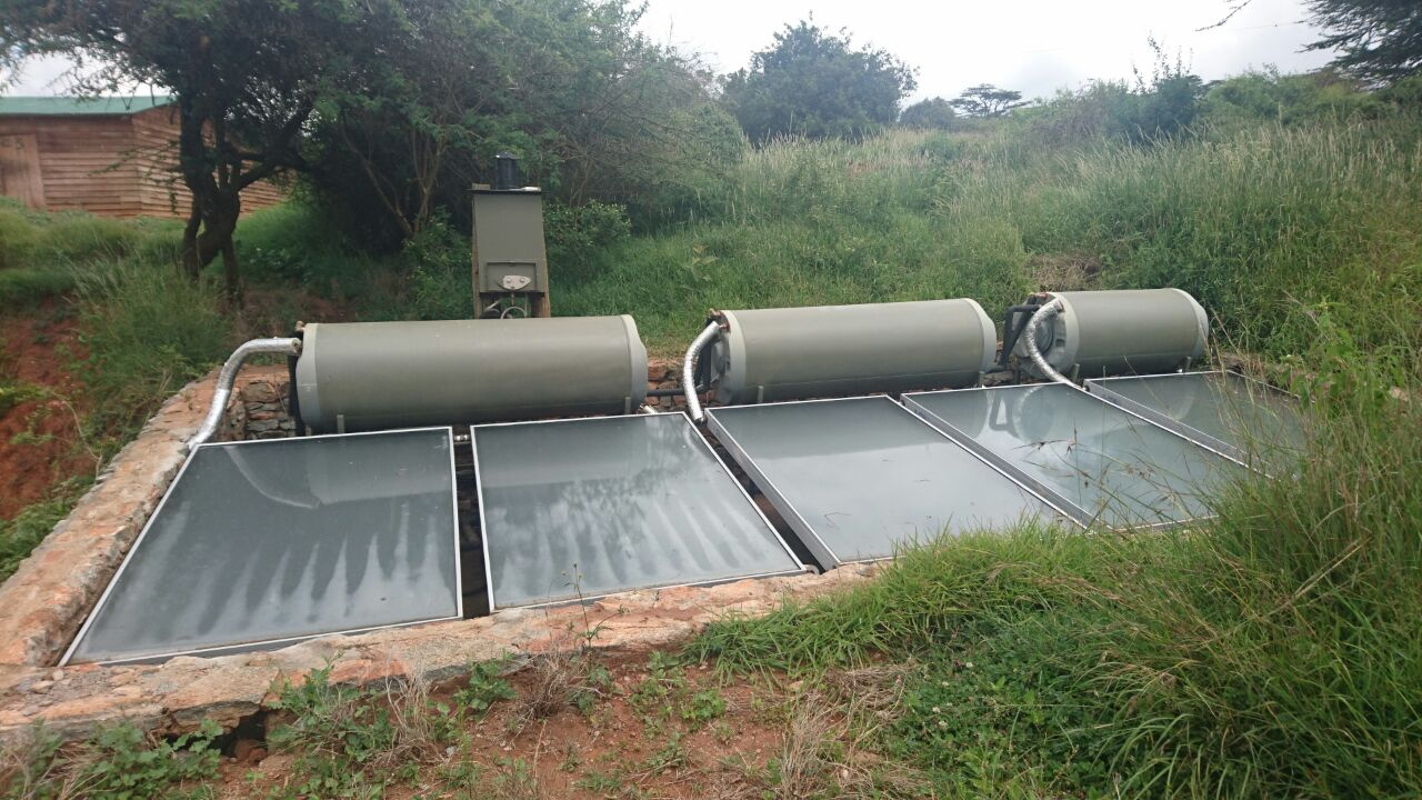 Tafsiri solar heater and burners