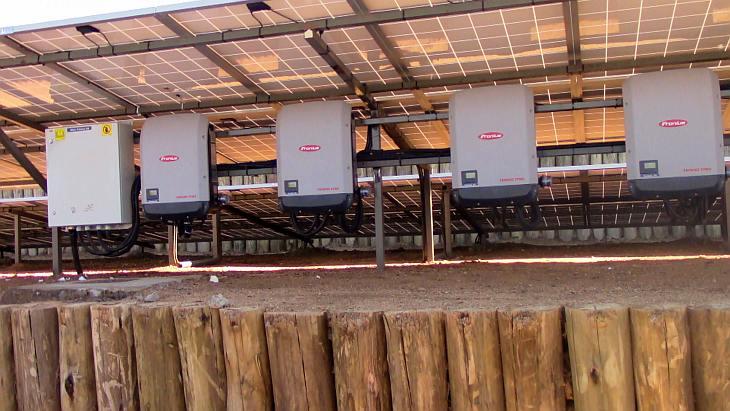 Hybrid Power Installation in Alrijiju – Nanyuki