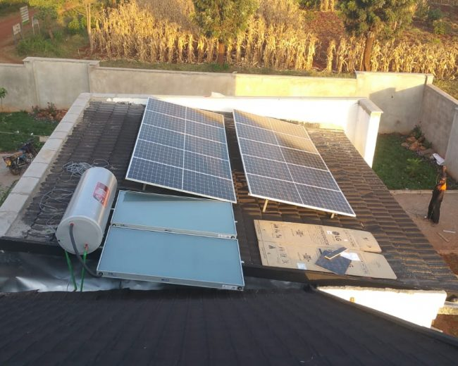 8KWS SOLAR POWER FOR A DOMESTIC HOME IN SAGANA