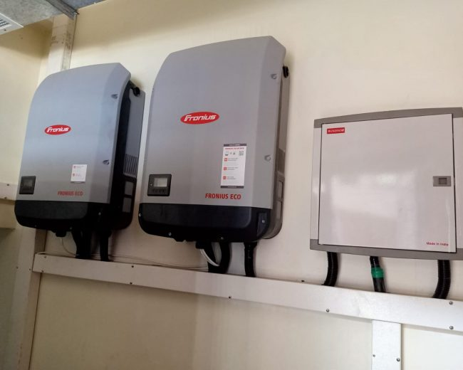 60 Kilowatts Grid Tied solar power for a commercial institution